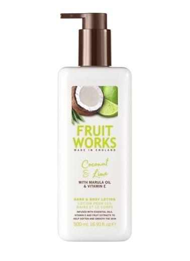 Fruit Works Coconut & Lime El Ve Vücut Losyonu 500 ml Renksiz